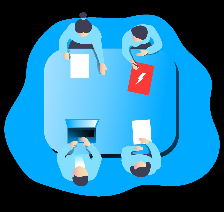 PDQ team illustration